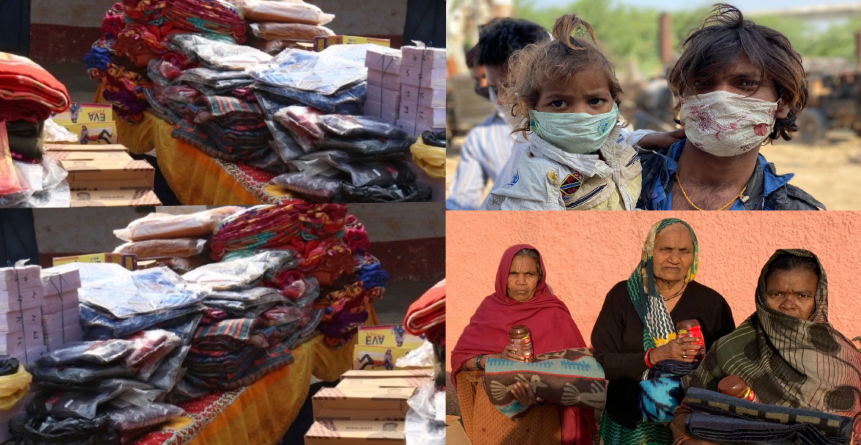3 Days Distribution Camp Of Winter Clothes, Foot Wears And Blankets For Needy And Poor People